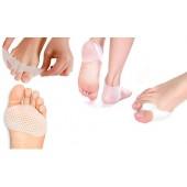 Set de 3 protections silicone pour pieds